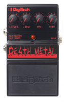 Педаль дисторшн DIGITECH DEATH METAL PEDAL
